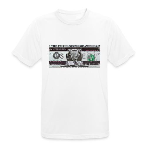 SLOPEZ x ACIDcash logo - Pustende T-skjorte for menn