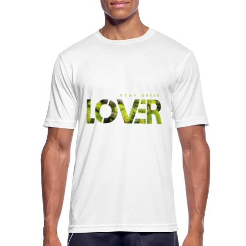 Stay Green Lover - Maglietta da uomo traspirante