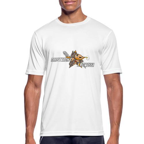 Vintage Maastrichtse lacrosse - Mannen T-shirt ademend