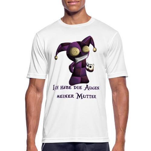 Die Augen der Mutter - Männer T-Shirt atmungsaktiv