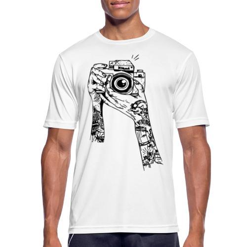 MACCHINA FOTOGRAFICA - Maglietta da uomo traspirante