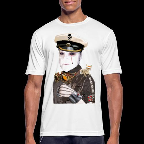 STEAMPUNK PORTRAIT GOTHIQUE - T-shirt respirant Homme