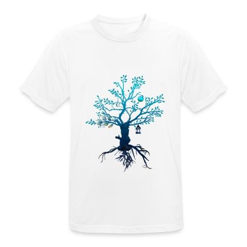 Lebensbaum - Männer T-Shirt atmungsaktiv
