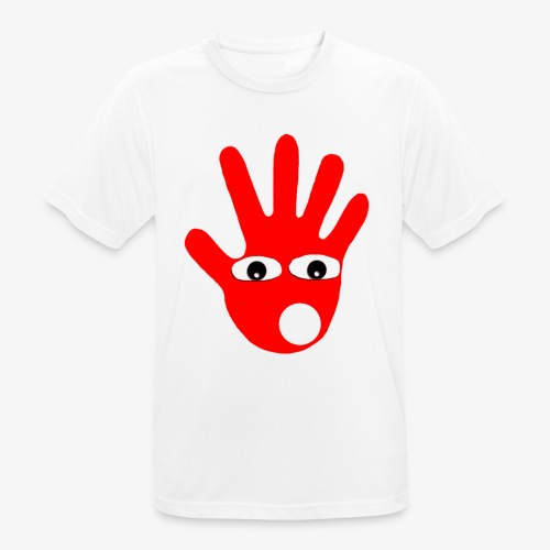 Hände mit Augen - T-shirt respirant Homme
