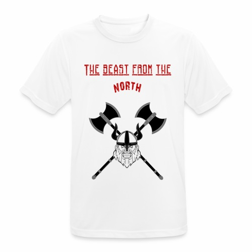 The Beast From The North - Andningsaktiv T-shirt herr