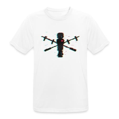 Glitch - Männer T-Shirt atmungsaktiv