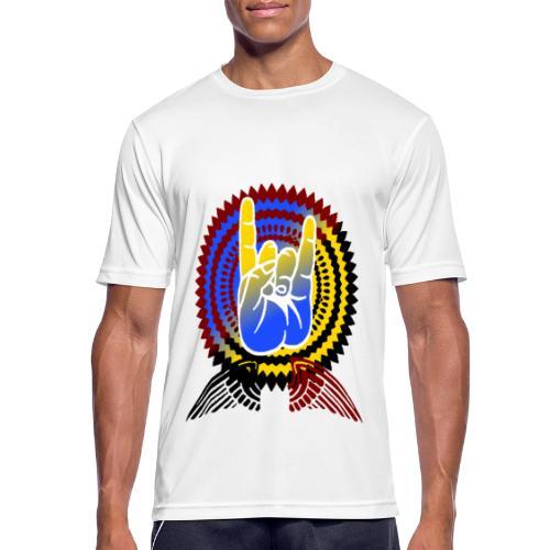 Rock it - Männer T-Shirt atmungsaktiv