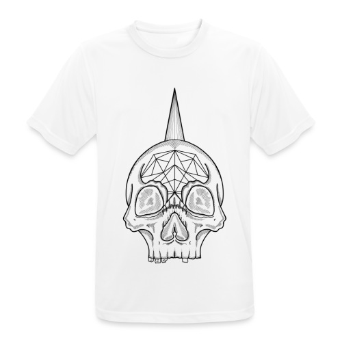 Skull head - T-shirt respirant Homme