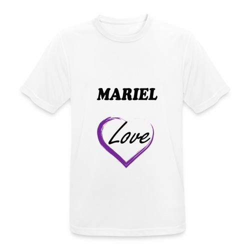 Mariel Love - Camiseta hombre transpirable
