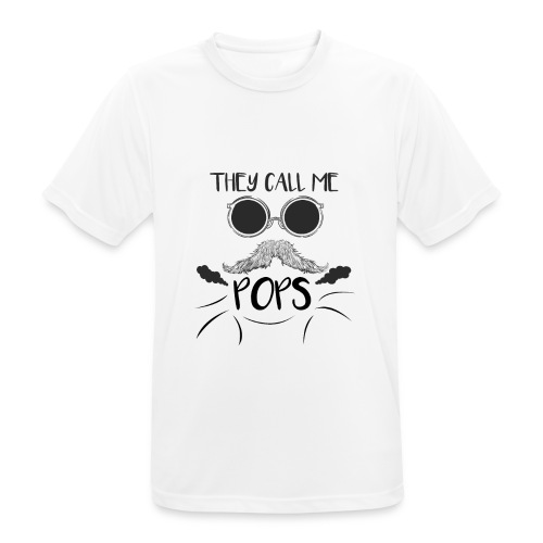 they call me pops t-shirt pour homme - T-shirt respirant Homme