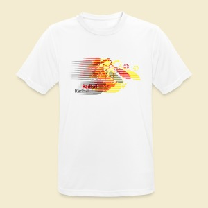 Radball | Earthquake Germany - Männer T-Shirt atmungsaktiv