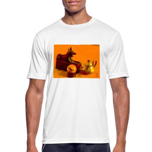 Anubi nel deserto - Maglietta da uomo traspirante