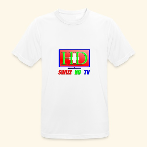 SWIZZ HD TV - Männer T-Shirt atmungsaktiv