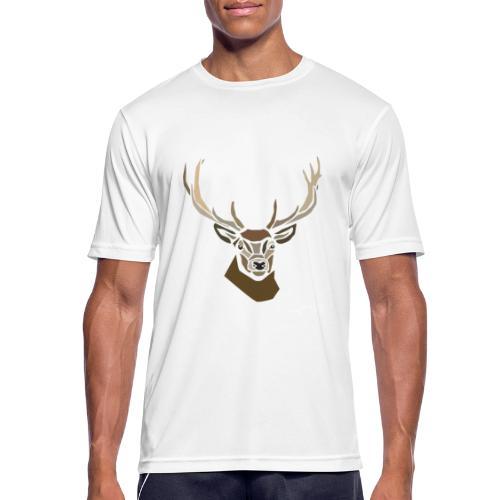 cerf-spread - T-shirt respirant Homme