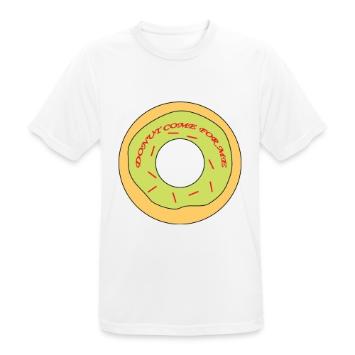 Donut Come For Me Red - Men's Breathable T-Shirt