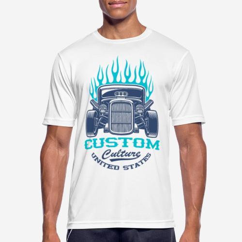 Custom Car USA - Männer T-Shirt atmungsaktiv