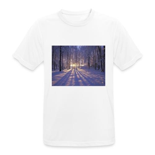 Wintercollectie - Mannen T-shirt ademend actief