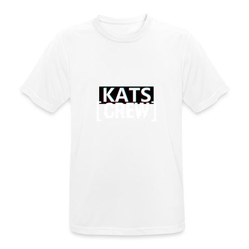 KATS CREW Logo - Koszulka męska oddychająca