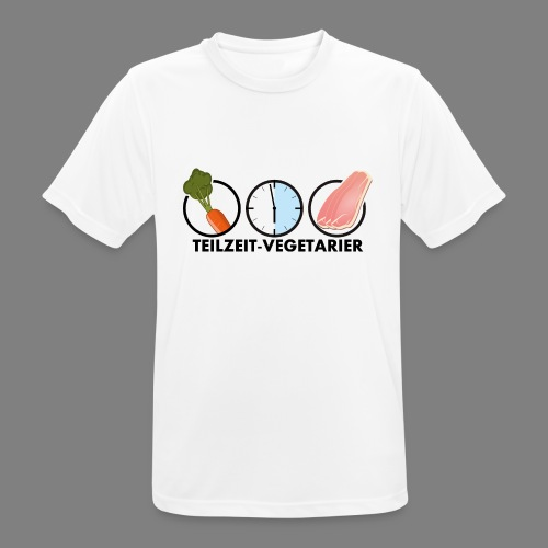 Teilzeit-Vegetarier - Männer T-Shirt atmungsaktiv