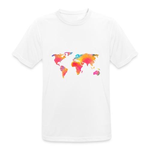 World - Männer T-Shirt atmungsaktiv