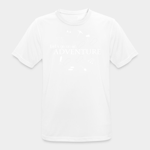 Let's go on an adventure! - Men's Breathable T-Shirt