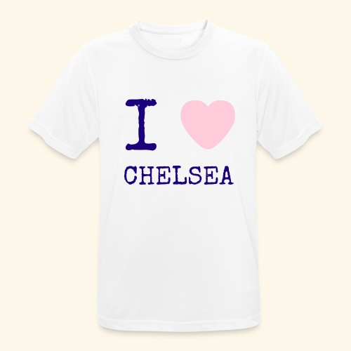 I Love Chelsea 2017 - Men's Breathable T-Shirt