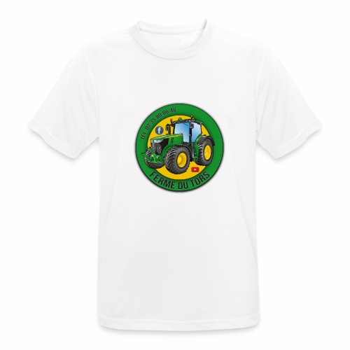 Logo de la Ferme - T-shirt respirant Homme