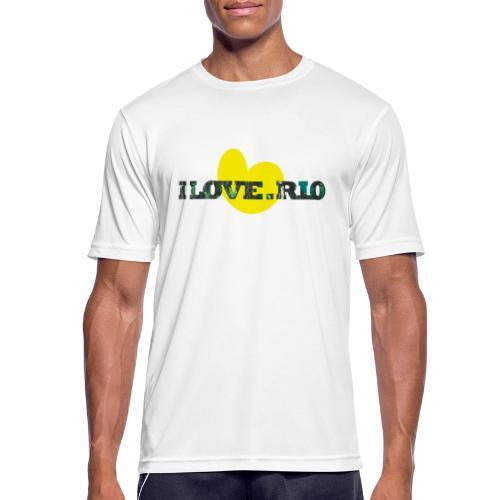 ILOVE.RIO TROPICAL N°1 - Men's Breathable T-Shirt