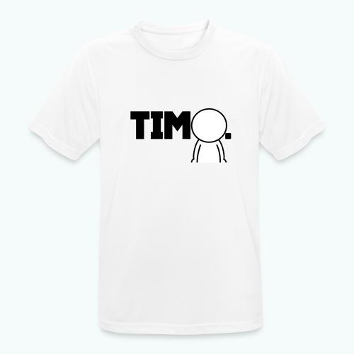 Design met ventje - Mannen T-shirt ademend actief