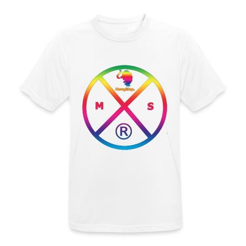 MS logo multicolor - T-shirt respirant Homme
