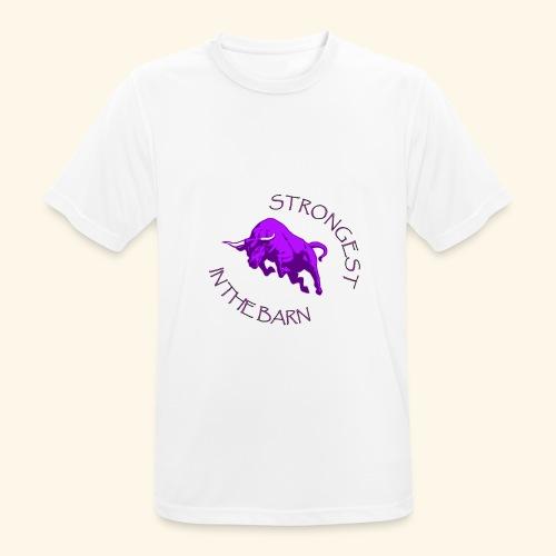 STRONGEST - Maglietta da uomo traspirante