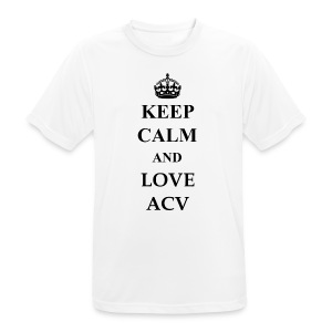 Keep Calm and Love ACV - Männer T-Shirt atmungsaktiv