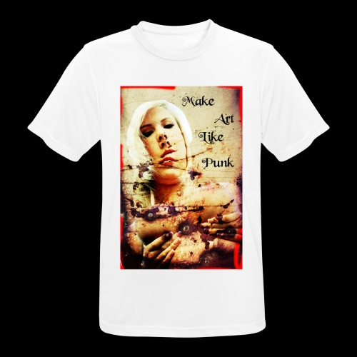 Make Art Like Punk - T-shirt respirant Homme