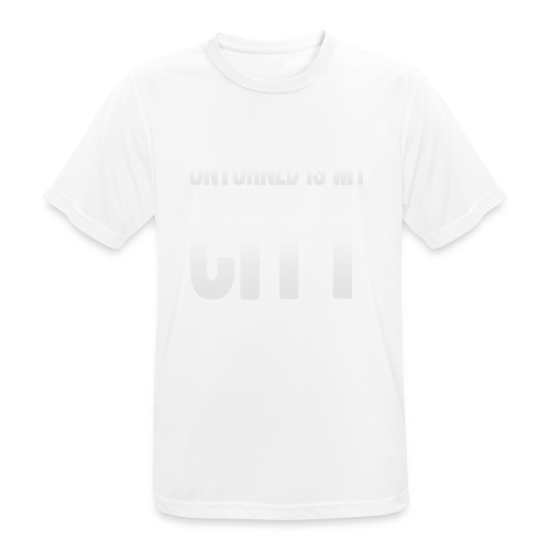 Unturned is my city - Men's Breathable T-Shirt