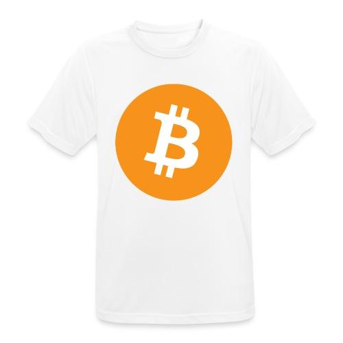 Bitcoin boom - Maglietta da uomo traspirante