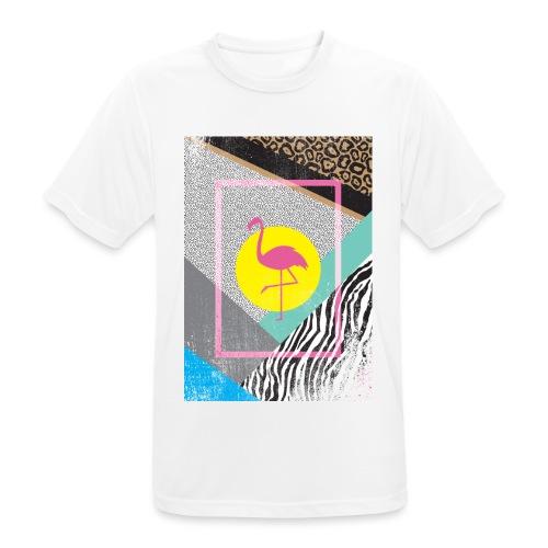 FLAMINGO - Männer T-Shirt atmungsaktiv
