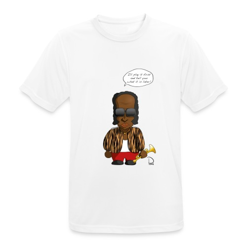Miles Davis - Männer T-Shirt atmungsaktiv