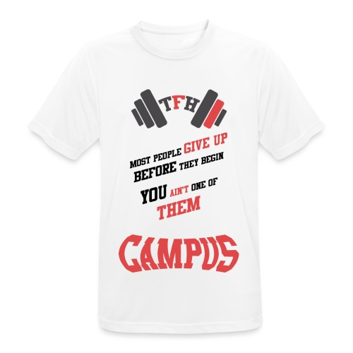 Tallason's Fitness Horizon Motivational Design # 1 - Men's Breathable T-Shirt
