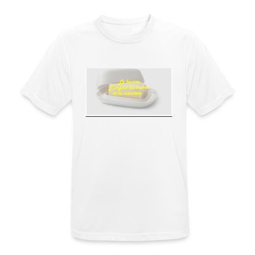 Le beurre - T-shirt respirant Homme