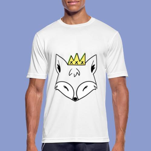 king fox - Maglietta da uomo traspirante