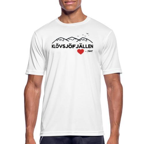 Klövsjöfjällen - Andningsaktiv T-shirt herr