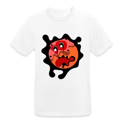 scary cartoon - Mannen T-shirt ademend actief