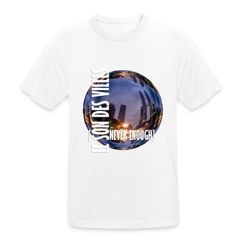 Le Son Des Villes :world - T-shirt respirant Homme