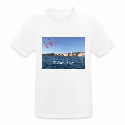 I love Rab - Männer T-Shirt atmungsaktiv