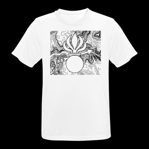 T-Shirt Sport Zug 2 Gren RS 1-19 - Männer T-Shirt atmungsaktiv