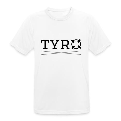 Tyro Logo schwarz - Männer T-Shirt atmungsaktiv