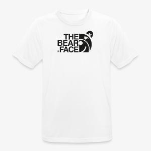 The Bear Face T-shirt (Black) - Camiseta hombre transpirable