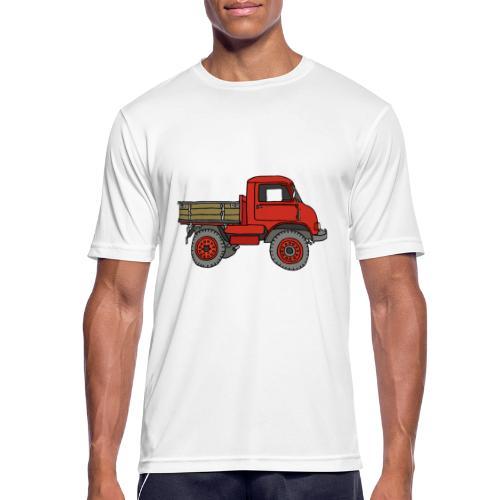 Roter Lastwagen, LKW, Laster - Männer T-Shirt atmungsaktiv