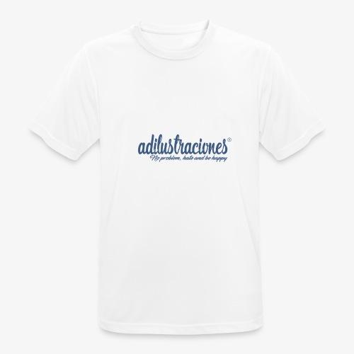 adilustraciones - Camiseta hombre transpirable