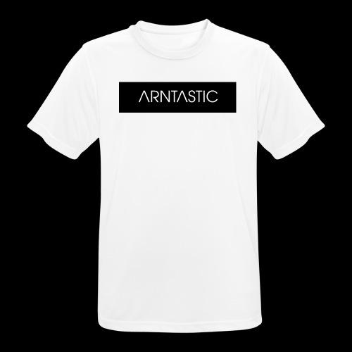 ARNTASTIC balken schwarz - Männer T-Shirt atmungsaktiv